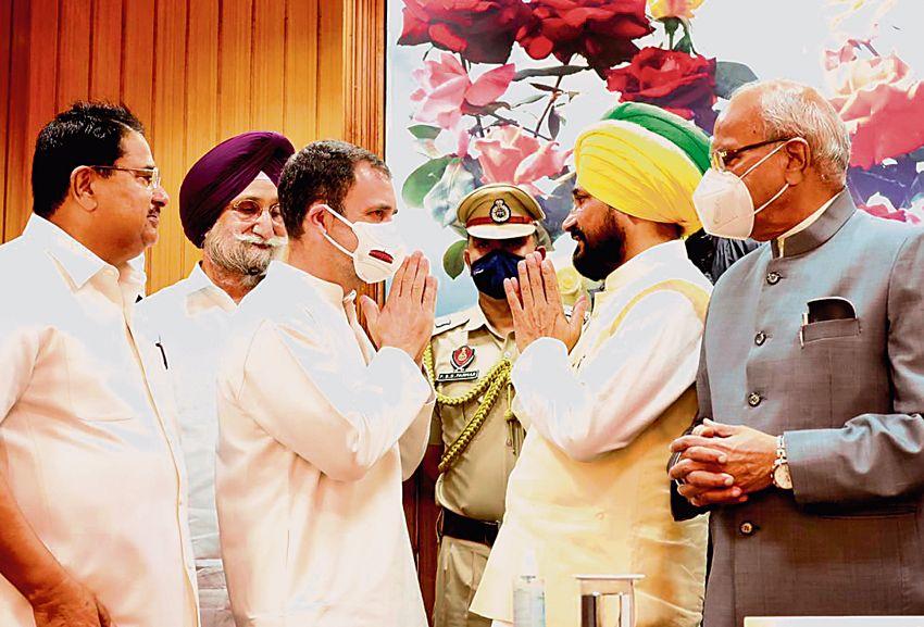 Punjab Deputy CM: Last-minute switch bears Navjot Sidhu's mark