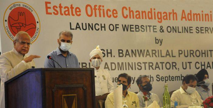 Five Chandigarh Estate Office services go online