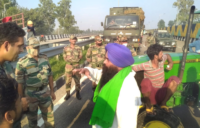 Doaba: Army convoy stopped in Jalandhar briefly, papers checked