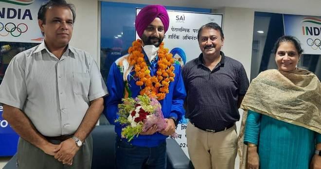 SAI honours Paralympic archer Harvinder Singh in Sonepat