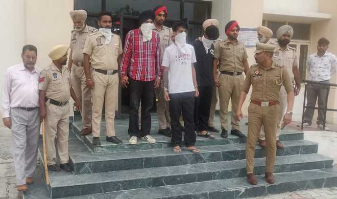 KTF module busted, 3 held with tiffin bombs in Bhikhiwind village