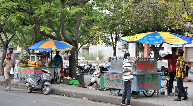 Awareness camp for street food vendors in Ludhiana