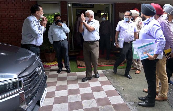 Urban Affairs Secy reviews Smart City Mission projects in Ludhiana