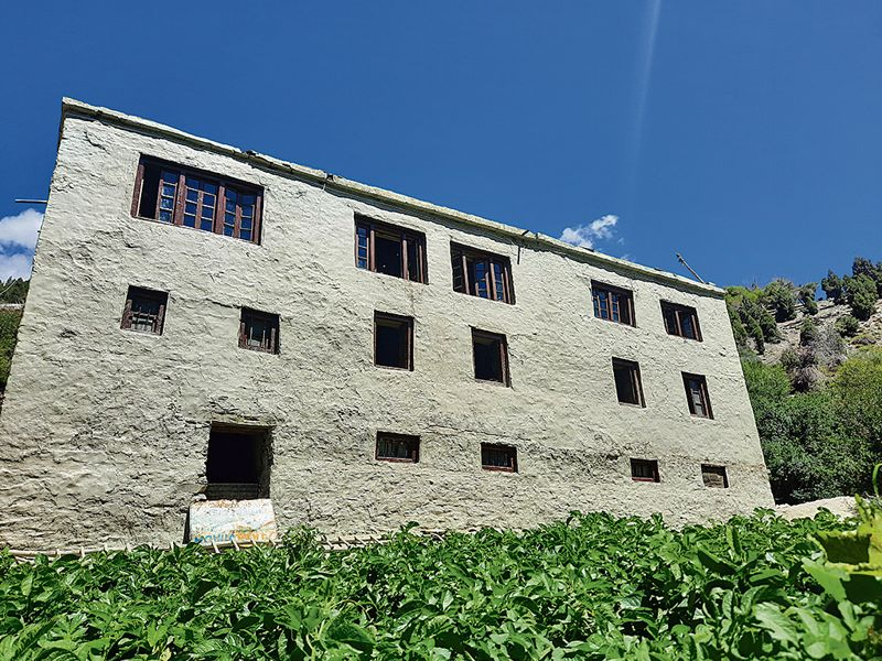 Youths convert mud house into museum at Keylong