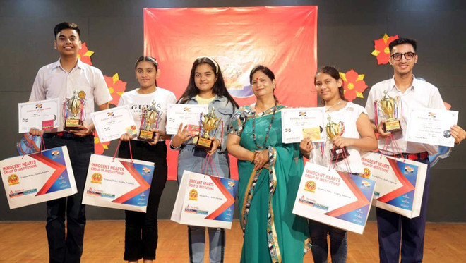 Mannat 1st in Art and Culture event