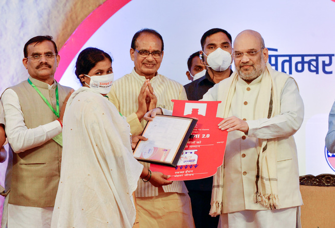 Amit Shah: Cong talked about ending poverty, did nothing