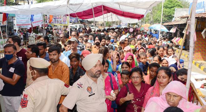 Sodal mela: Lakhs of devotees pay obeisance