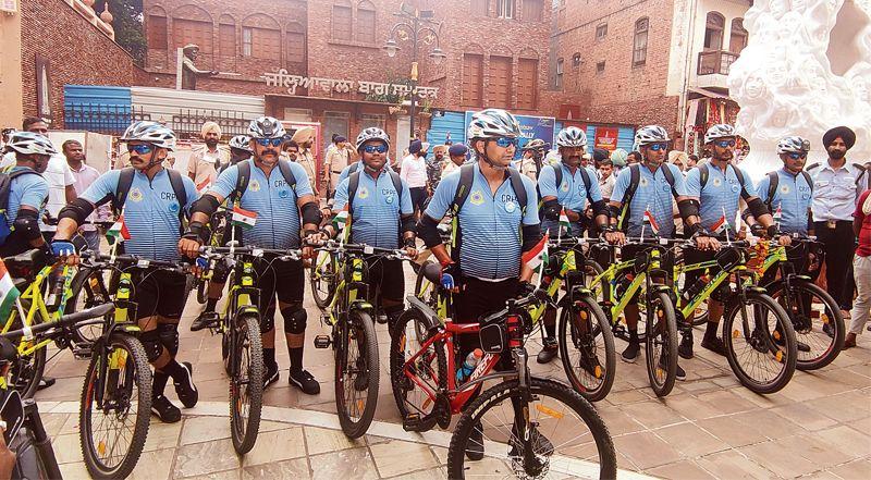 CRPF cycle rally reaches Amritsar