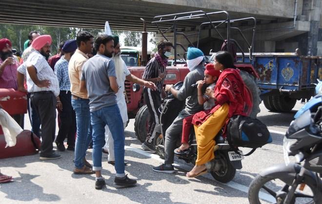 Ludhiana: Commuters a harried lot