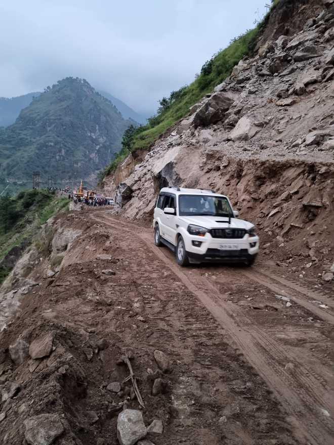 Shimla-Kinnaur road restored for traffic