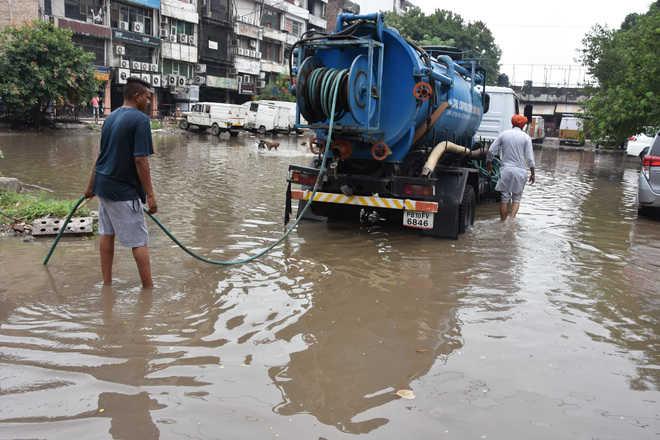Poor rainwater drainage irks Bathinda residents