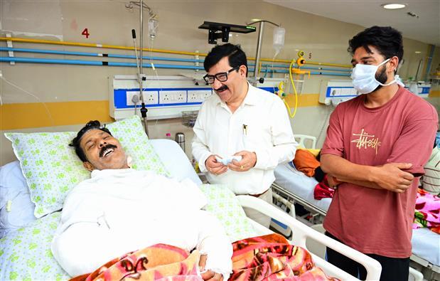 Village ex-pradhan succumbs at PGI