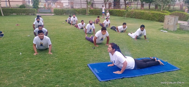 National yoga champs work as home tutors to make ends meet