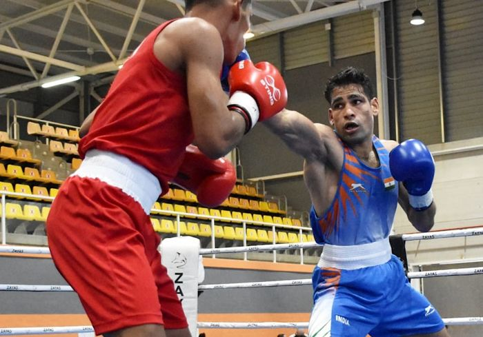 Boxing nationals: Shiva Thapa gathers steam, in semis