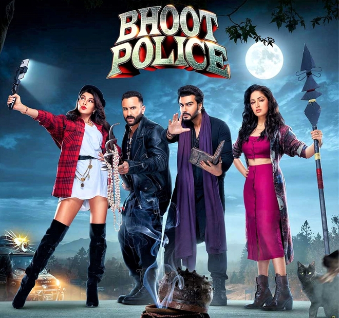Get set to watch the film Bhoot Police