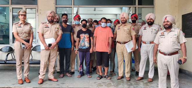 14 thieves held in Ludhiana; 17 two-wheelers, 20 mobile phones recovered