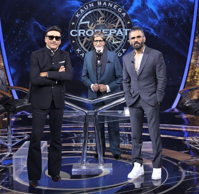 Jackie Shroff and Suniel Shetty will grace the sets of KBC on Shaandaar Shukravaar