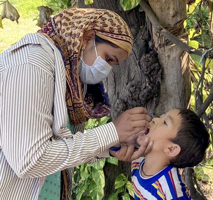 Over 14K kids get polio drops in Patiala district on Day 1