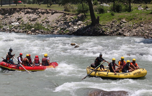 Water sports resume, tourist footfall increases in Manali