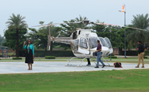 Ludhiana man sets up private chopper services for business trips, joyride