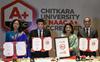 Chitkara varsity awarded A+ NAAC rating