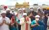 Haryana Governor Bandaru Dattatreya visits Golden Temple