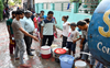 Zirakpur: Long queues to fetch water in Baltana area