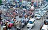 Commuters brave traffic snarls as agitators block Patiala roads