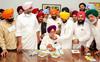 Sukhjinder Singh Randhawa takes charge as Punjab's Deputy Chief Minister, PCC chief stays away