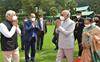 President Ram Nath Kovind returns to Delhi