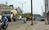 Electricity poles obstructing roads invite fatal mishaps