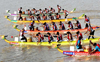 Dragon boat race contest from October 9